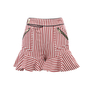 Authentic Second Hand Three Floor Alpha Stripe Shorts (PSS-197-00038) - Thumbnail 0