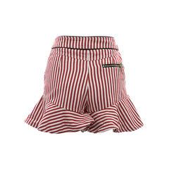 Three floor alpha stripe shorts 2?1502442585