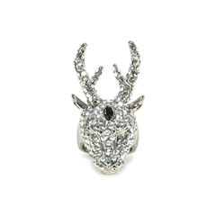 Crystal Deer Ring