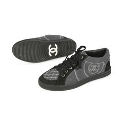 Chanel two tone sneakers 2?1503375491