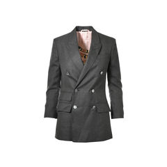 Wool Double-breasted Jacket