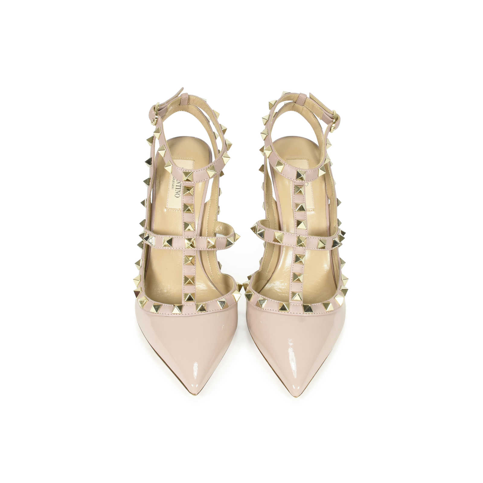 a33d8daff Authentic Second Hand Valentino Rockstud Patent Pumps (PSS-374-00008) -  Thumbnail ...
