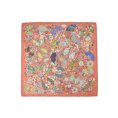 Fleurs et Papillons de Tissus Scarf