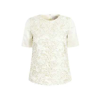 Authentic Second Hand Moiselle Brocade Top (PSS-387-00003)