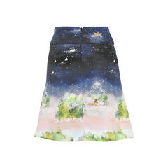 Franche lippee printed a line skirt 2?1503992003