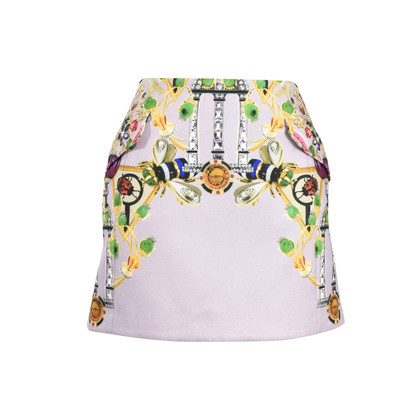 Authentic Second Hand Mary Katrantzou Kalion Printed Mini Skirt (PSS-387-00017)