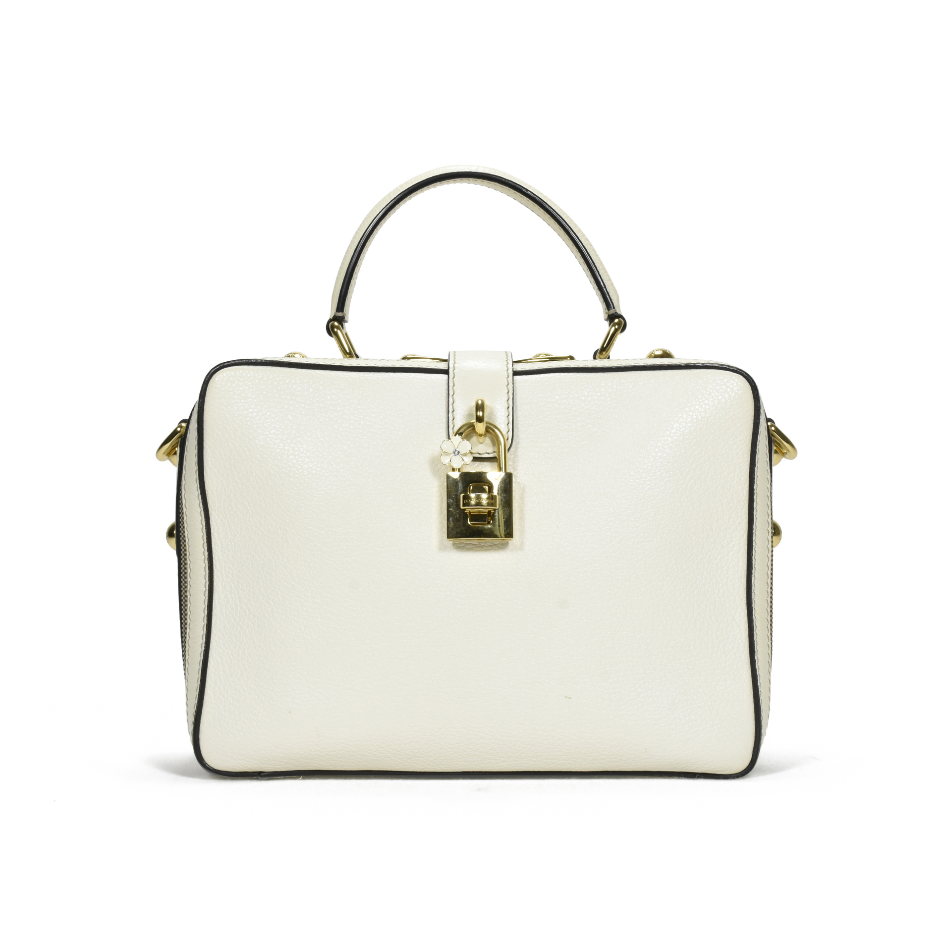 3ef49800a9 Authentic Second Hand Dolce   Gabbana Rosaria Box Tote (PSS-387-00030)