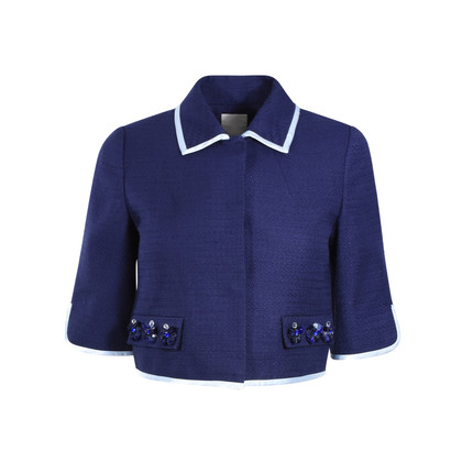 Authentic Second Hand Moiselle Cropped Jacket (PSS-387-00026)