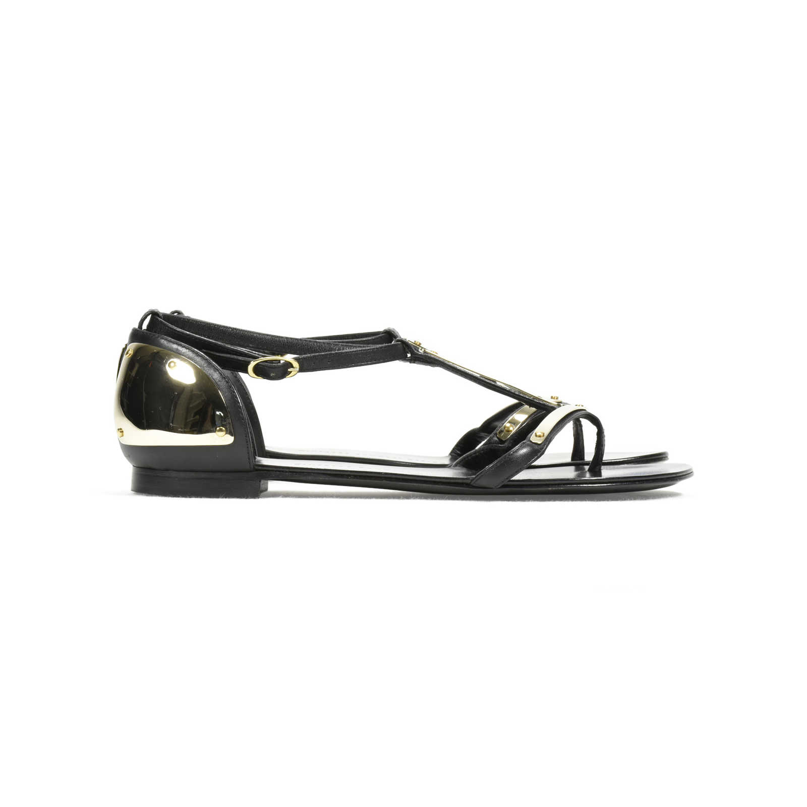 9052a159de594 ... Authentic Second Hand Giuseppe Zanotti Rock 10 Infradito Sandals  (PSS-369-00039) ...