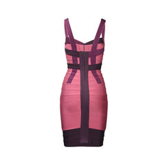 Herve leger honeysuckle raspberry bandage dress 2?1504515489