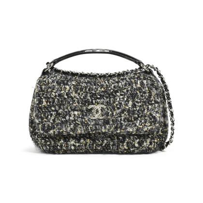 Chanel Tweed Satchel Bag