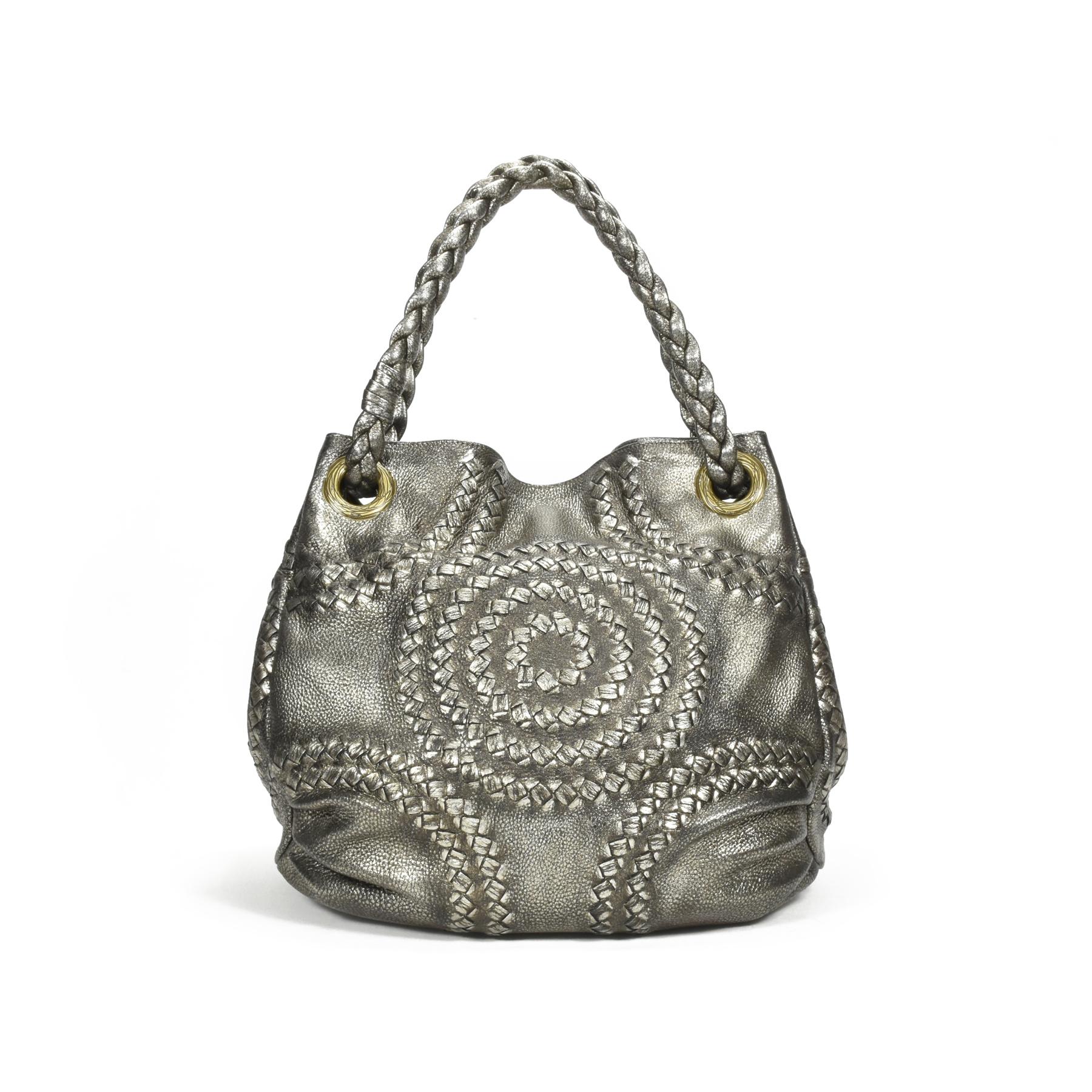 7bdd43e62b40 Authentic Second Hand Bottega Veneta Intrecciato-Trimmed Tote Bag  (PSS-240-00161)