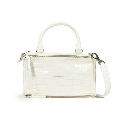 Givenchy Crocodile Embossed Pandora Bag