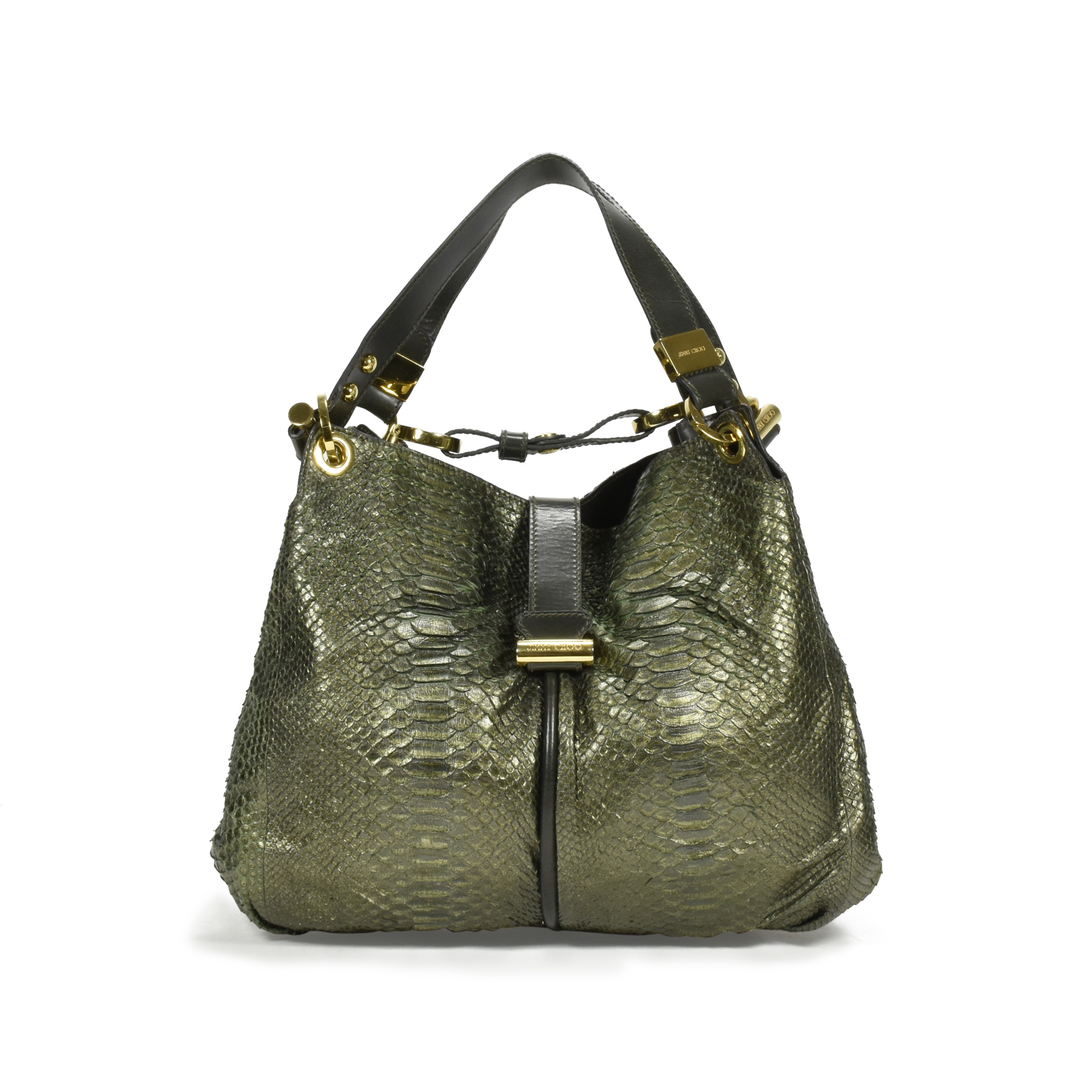 90c2c15b836 Authentic Second Hand Jimmy Choo Alex Python Bag (PSS-355-00014) - THE  FIFTH COLLECTION