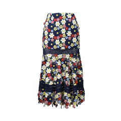 3D Lace Skirt