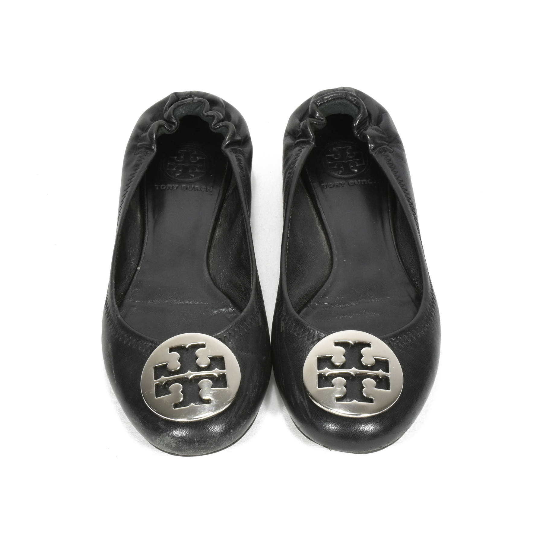 c279bc74b Authentic Second Hand Tory Burch Reva Ballet Flats (PSS-371-00010 ...