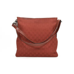Red Monogram Shoulder Bag