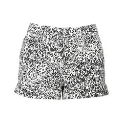 Abstract Printed Shorts