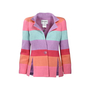 Chanel Rainbow Stripe Tweed Jacket - Thumbnail 0