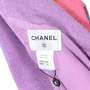 Chanel Rainbow Stripe Tweed Jacket - Thumbnail 2