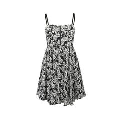 Cynthia Floral Bustier Dress