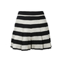 Authentic Second Hand Alice + Olivia Striped Box Pleat Shorts (PSS-196-00014) - Thumbnail 0