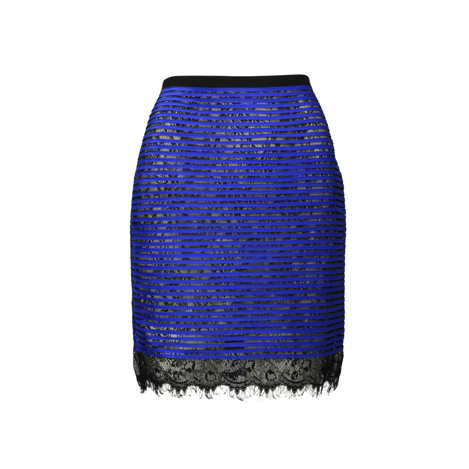 5b3e5a2fc Authentic Second Hand Sachin & Babi Pleated LacePencil Skirt  (PSS-340-00087) - THE FIFTH COLLECTION