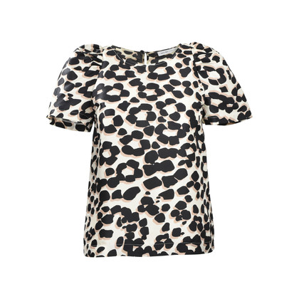 Authentic Second Hand See by Chloe Leopard Print Tunic (PSS-340-00063)