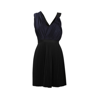 Proenza Schouler Two Toned Pleated Sleeveless Dress