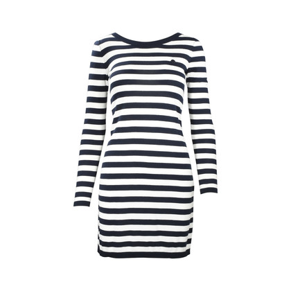 Authentic Second Hand Armani Jeans Stripe Sweater Dress (PSS-375-00020)