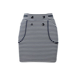 Cotton Stripe Skirt