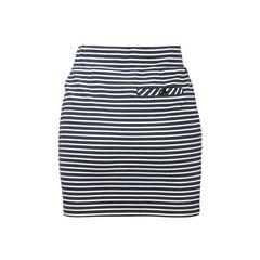 Armani jeans cotton stripe skirt 2?1504687174