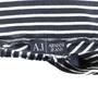 Authentic Second Hand Armani Jeans Cotton Stripe Skirt (PSS-375-00022) - Thumbnail 2