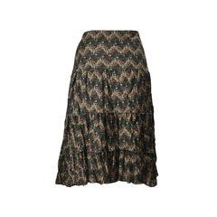 Kenzo printed tiered skirt 2?1504774370