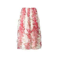 Kenzo tiered silk skirt 2?1504774804