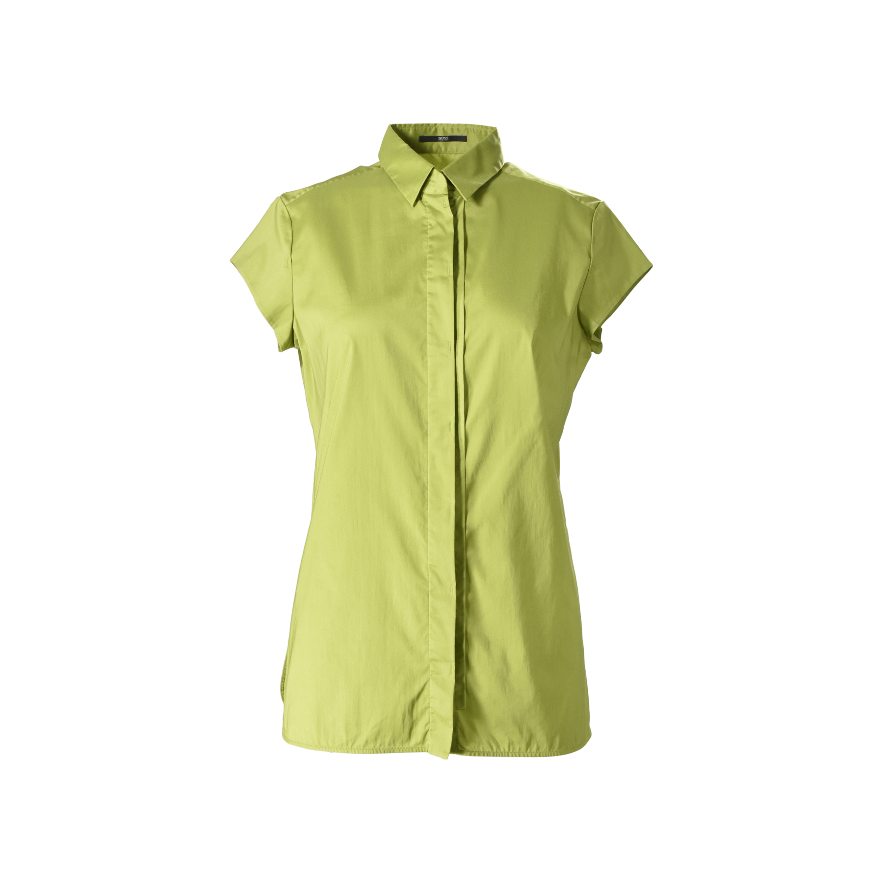 2b133e997 Authentic Second Hand Hugo Boss Short-sleeve Button-Down Shirt  (PSS-388-00044) - THE FIFTH COLLECTION