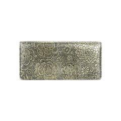 Chanel floral metallic gold clutch 2?1505198943