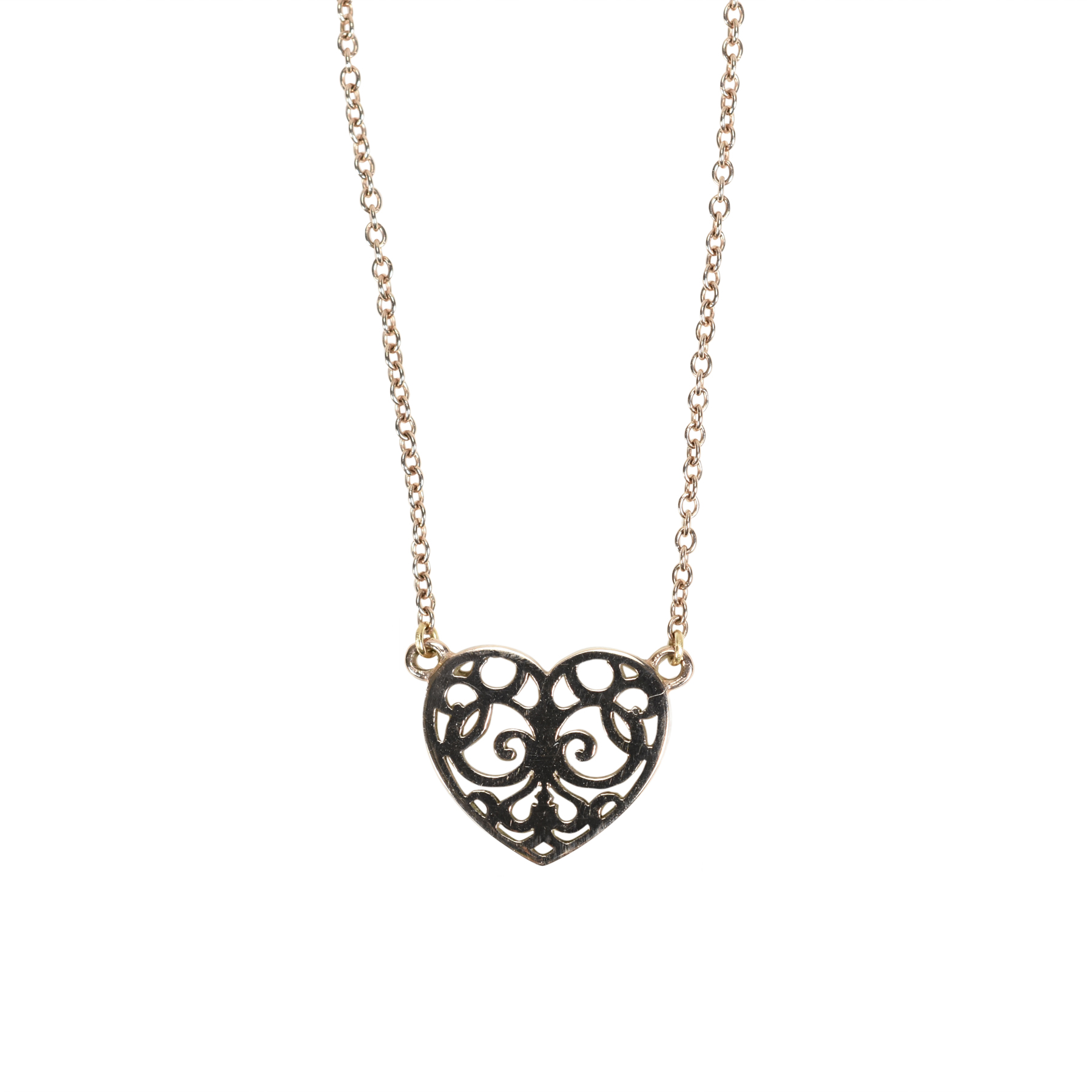 Second hand tiffany co enchant heart pendant the fifth collection mozeypictures Choice Image