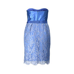 Matthew williamson strapless lace mini dress 2?1505203258