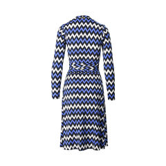 Michael michael kors white chevron twist wrap dress 2?1505210389