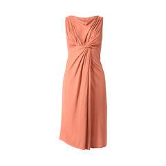 Crossover Drape Dress