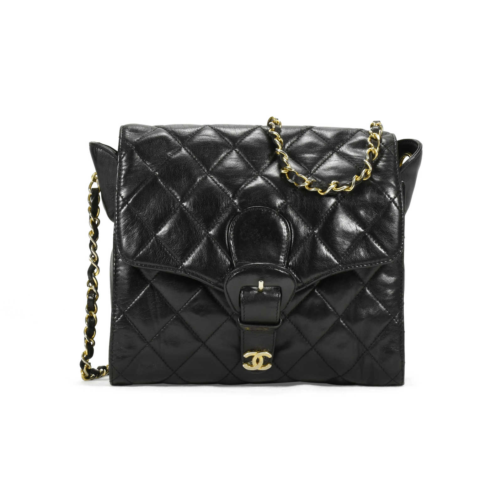 cc3a28f08d197d Authentic Vintage Chanel Crossbody Bag with Wallet (PSS-200-00897) -  Thumbnail ...
