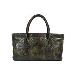 Chanel python cerf tote 2?1505366350