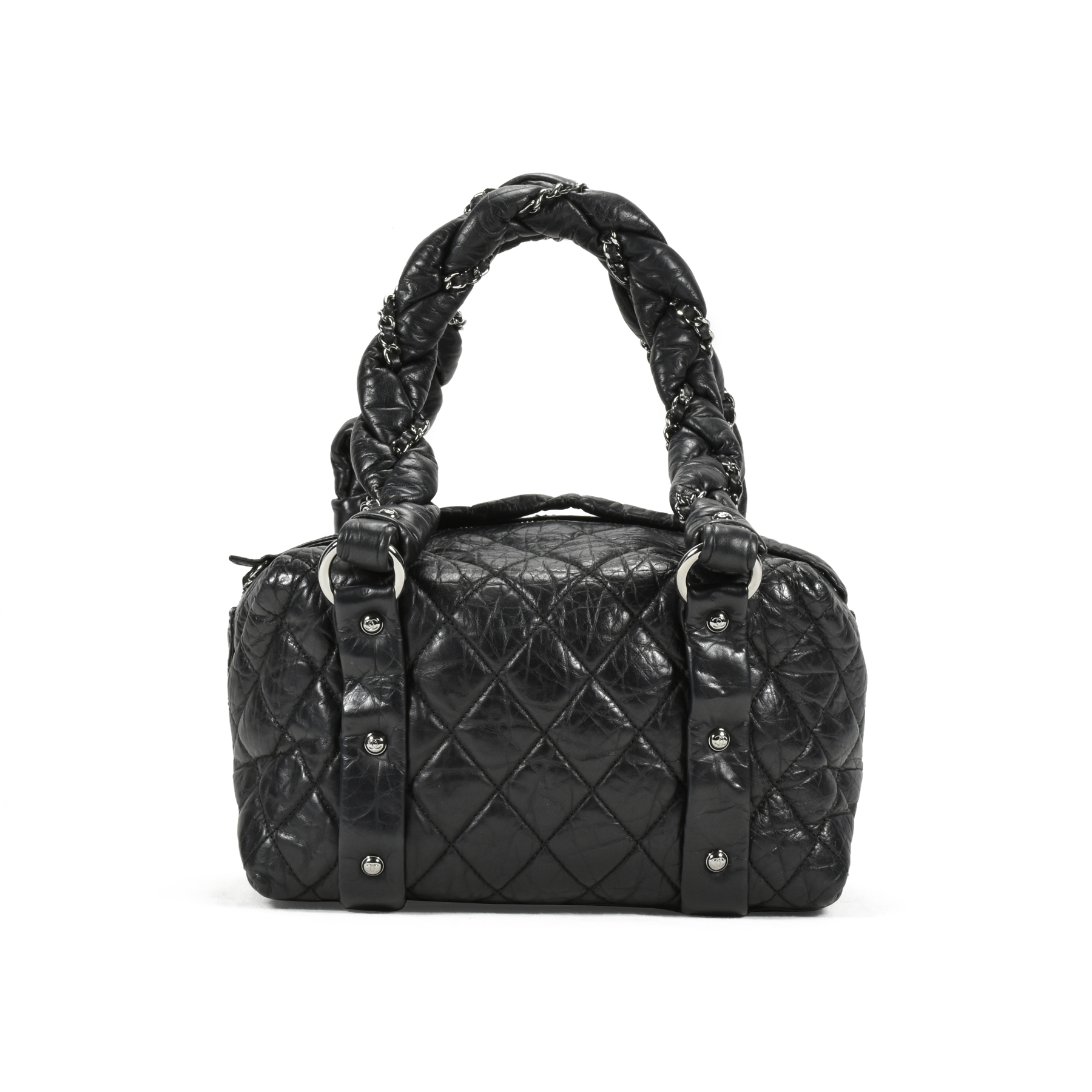 802bb7d427e958 Authentic Second Hand Chanel Lady Braid Small Tote Bag (PSS-200-00898) |  THE FIFTH COLLECTION