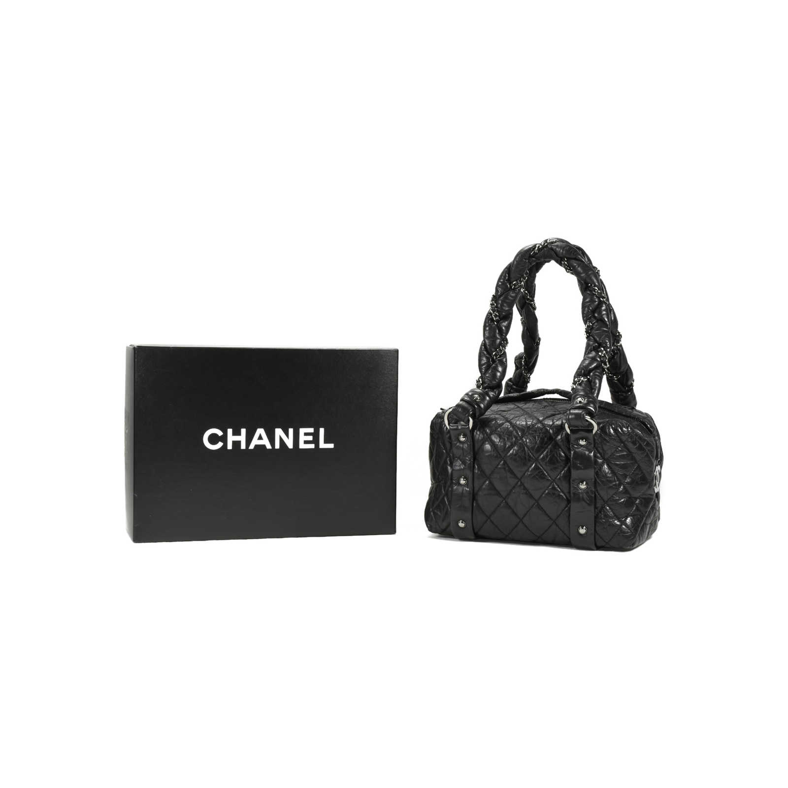80162d0988d6 ... Authentic Second Hand Chanel Lady Braid Small Tote Bag (PSS-200-00898)