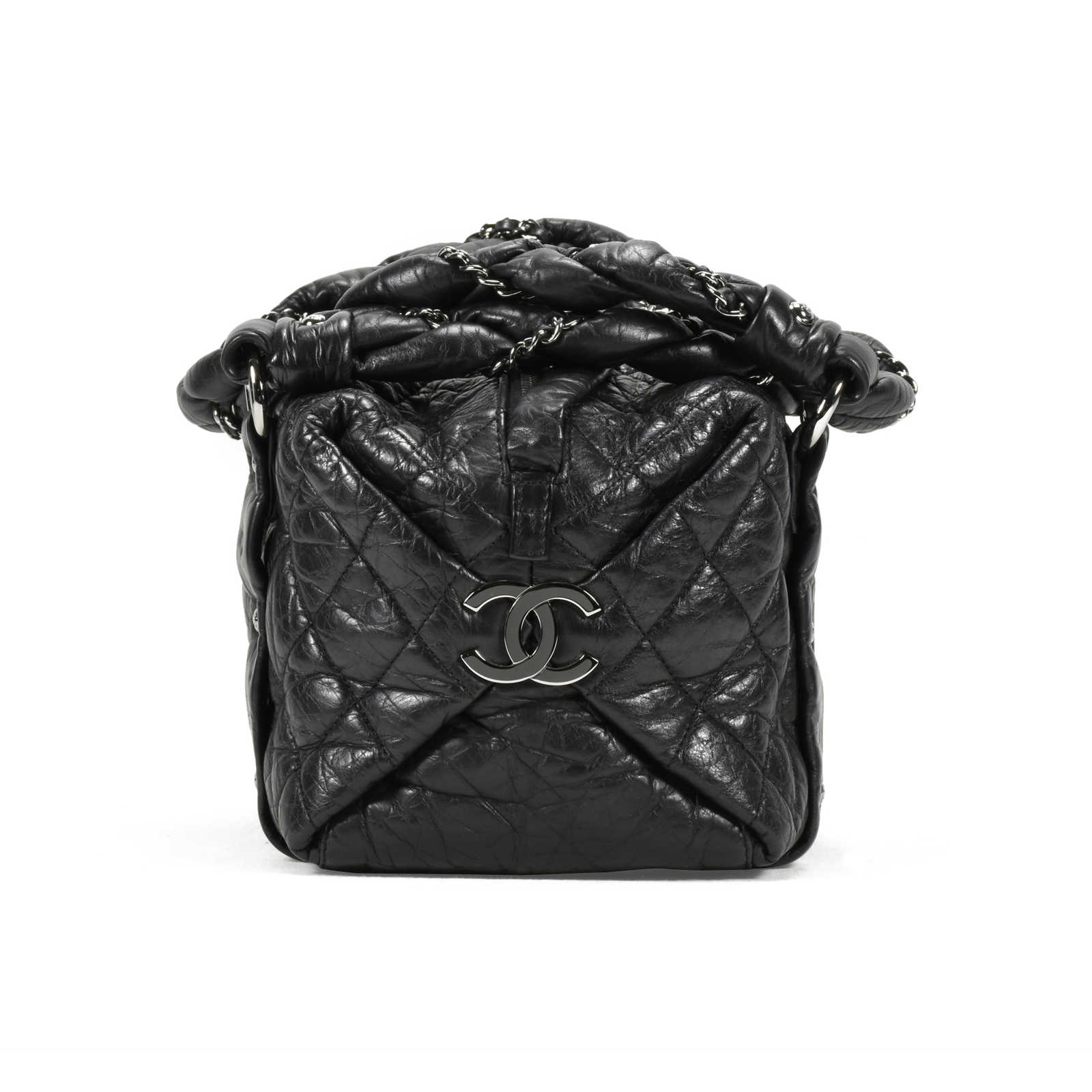 7a45a1710d08 ... Authentic Second Hand Chanel Lady Braid Small Tote Bag (PSS-200-00898)  ...