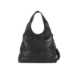 Chanel square quilt tassel hobo bag 2?1505369921