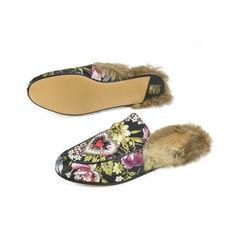 Gucci princetown floral brocade slipper multicolour 2?1505383698
