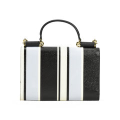 Dolce gabbana striped leather chain wallet 2?1505448523