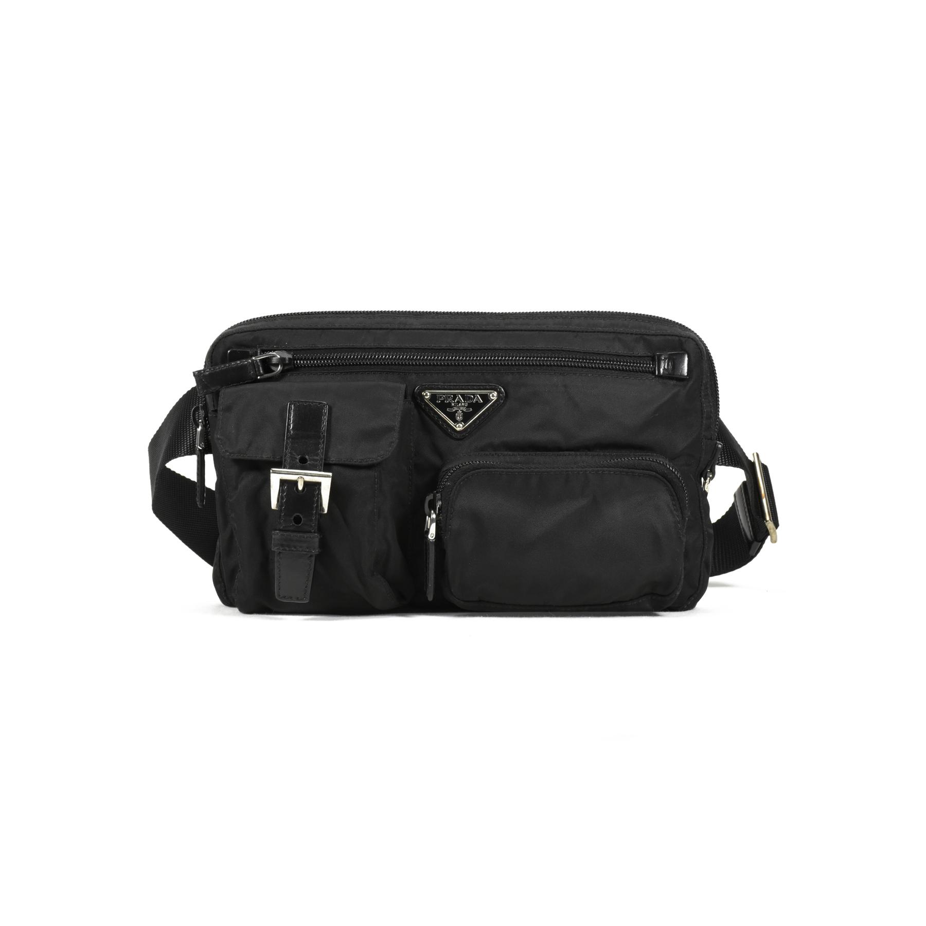 Authentic Second Hand Prada Nylon Belt Bag (PSS-200-00892)  8e617c75945a6